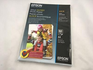 Бумага Epson Value Glossy Photo Paper (50 листов A4)