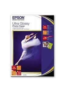 Бумага Epson Ultra Glossy Photo Paper (50 листов 13x18 см)