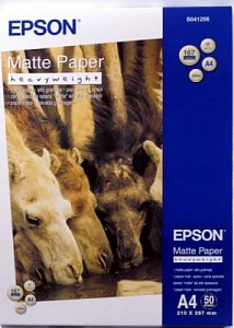 Бумага Epson Matte Paper - Heavyweight (50 листов A4)