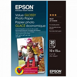 Бумага Epson Value Glossy Photo Paper (20 листов 10x15 см)
